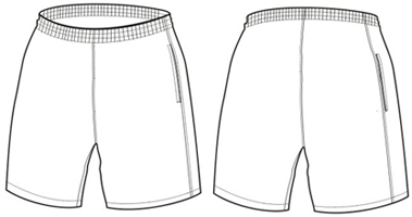 Mens Short S Sketch Sketch Coloring Page